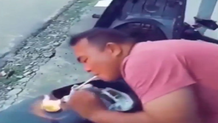 cigarette flame in different way