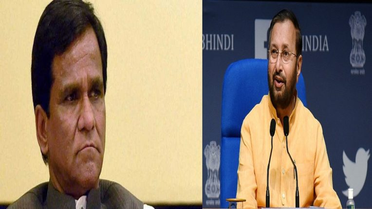 Rain of resignations before cabinet expansion; 12 ministers including Raosaheb Danve and Javadekar resigned