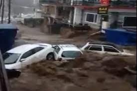 हिमाचल प्रदेशमधील धर्मशाळा येथे ढगफुटी ; अनेक ठिकाणी पाणी शिरले
