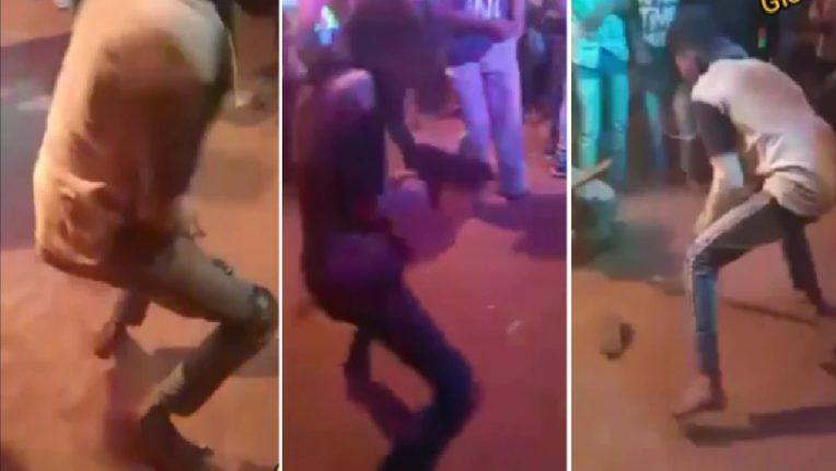 मोराने पिसारा फुलवल्यानंतर बंदूक डान्सचं वारं अंगात शिरलं, तरूणाच्या भन्नाट स्टेपमुळे सगळेच गारद अन् व्हिडिओ व्हायरल…