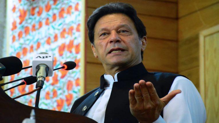 काश्मीरच्या नागरिकांना पाकिस्तानात यायचं आहे की, स्वतंत्र व्हायचं आहे : इम्रान खान