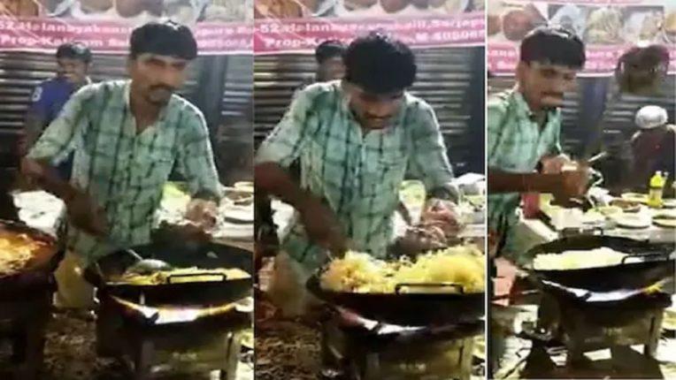 याला ४४० चा झटका लागला की काय! युवकाचा नूडल्स बनवतानाचा VIDEO पाहून नाही रोखू शकणार हसू