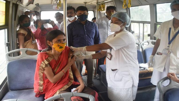 mobile van vaccination