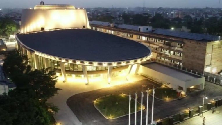 Model of India-Japan friendship; 108 Rudraksha Convention Center in Varanasi in collaboration with Japan