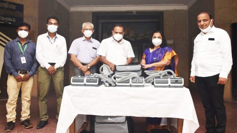 आमदार सतीश चव्हाण यांच्या आमदार निधीतून घाटीला मिळाली 28 लाख रुपयांची वैद्यकीय यंत्रसामुग्री