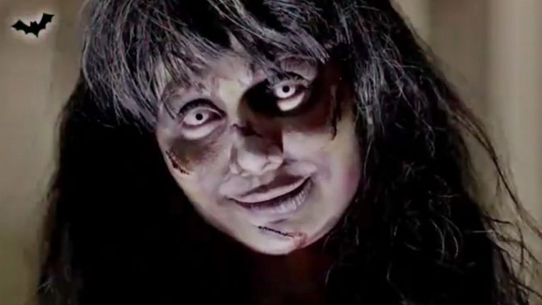भयानक!!! भूताच रूप घेऊन 'ही' अभिनेत्री घाबरवतेय सगळ्यांना, सोशल मीडियावर Photo होतायत व्हायरल!