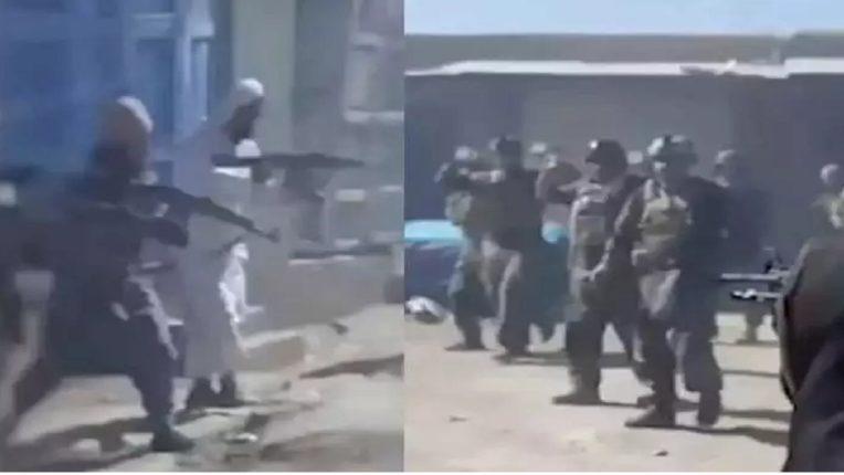 अल्लाह हू अकबर असा जयघोष करत तालिबानींनी 22 निशस्त्र लोकांना गोळ्या झाडल्या