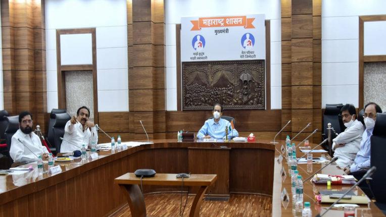 uddhav thakre in a meeting