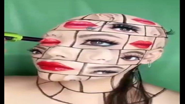 तरुणीला आहेत ५ डोळे आणि ५ ओठ; VIDEO पाहून डोक्याचा होईल गोईंदा, जाणून घ्या यामागील सत्य?