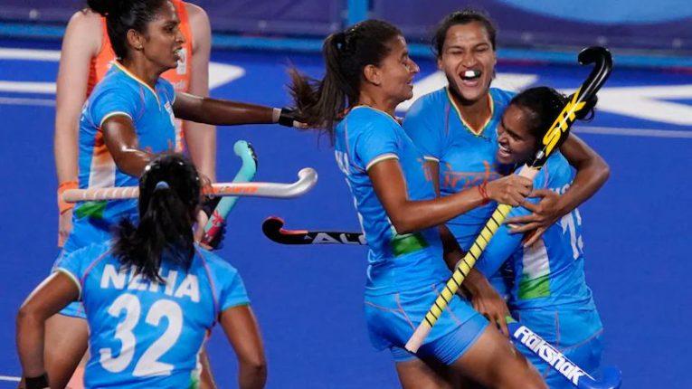 भारतीय महिला हॉकी संघाची उपांत्यपूर्व फेरीत धडक