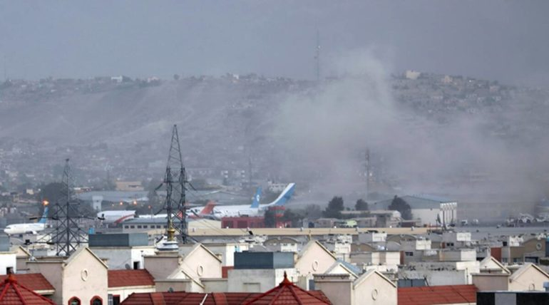 Afghanistan is the hideout of the Taliban; Two consecutive bomb blasts near Kabul airport, killing 13 people on the spot