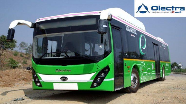 जीएसआरटीसी कडून ऑलेक्ट्रा ला 50 EV बस पुरवण्यासाठी ऑर्डर