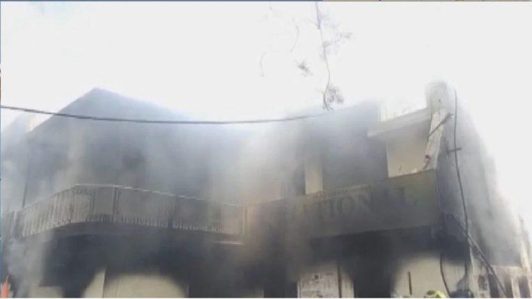 अमरावतीत MIDC मध्ये पेस्टिसाइड कंपनीला भीषण आग; परिस्थिती आटोक्यात आणण्यासाठी अग्निशामक दलाचे प्रयत्न सुरूच