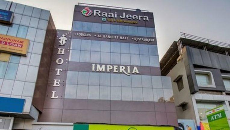 अमरावतीत हॉटेल इम्पेरियाला आग; व्यावसायिकाचा गुदमरून मृत्यू