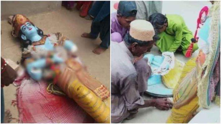 ऐन जन्माष्टमीच्या दिवशी पाकमध्ये समाजकंटकांकडून कृष्ण मंदिराची तोडफोड; भाविकांवरही हल्ला