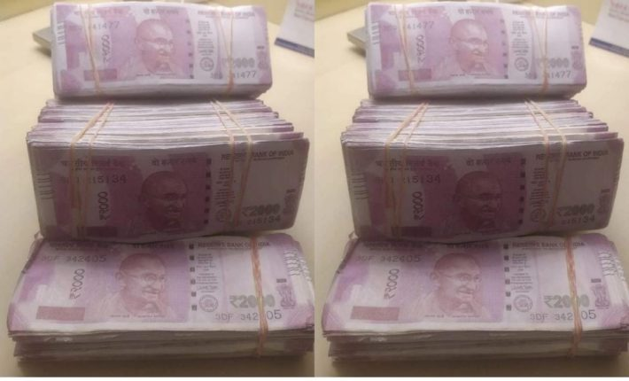 Two thousand notes printed by a jeweler in Mumbai; 40 lakh counterfeit notes seized from Hotel Madhuva