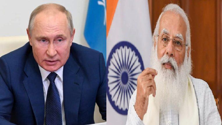 अफगाणिस्तानच्या मुद्द्यावर PM मोदी आणि रशियाचे अध्यक्ष पुतीन यांच्यात चर्चा