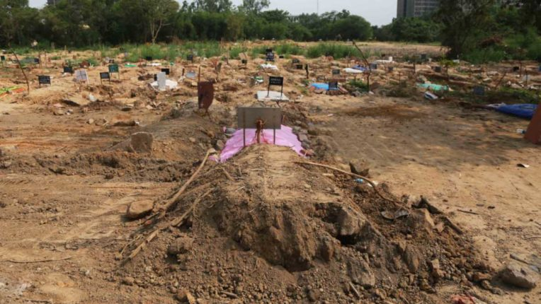 There is no place to bury the dead; Muslims made a big decision