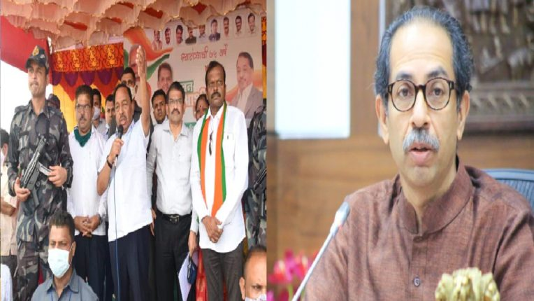 uddhav thackeray vs Narayan rane