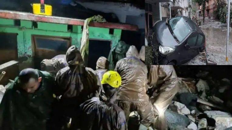 उत्तराखंडमध्ये पुन्हा ढगफुटी; चार जणांचा मृत्यू