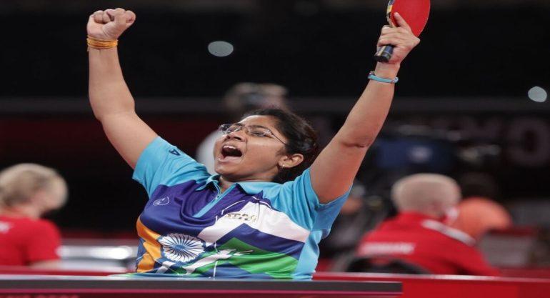 भारताला पहिले सुर्वणपदक निश्चित; टेबल टेनिस स्टार भाविना पटेल अंतिम फेरीत दाखल