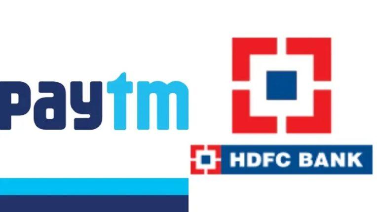पेटीएम आणि  HDFC ने भारतभरातील शेवटच्या ग्राहकाला व व्यापाऱ्यांना आर्थिक सोल्युशन्स देण्यासाठी केली धोरणात्मक भागीदारीची घोषणा