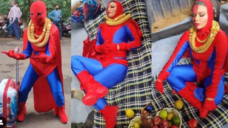 'वेडेपणा वाढत चाललाय…' स्पायडर वुमनचा ड्रेस परिधान करून राखी सावतं रस्त्यात चक्क झोपली, नाचली आणि…