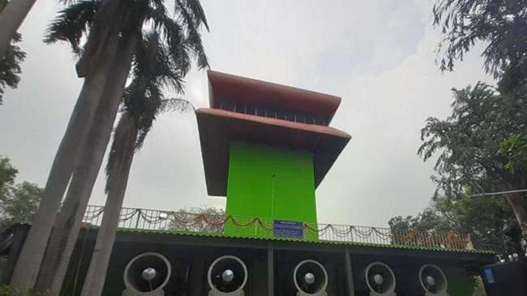 smog tower in delhi