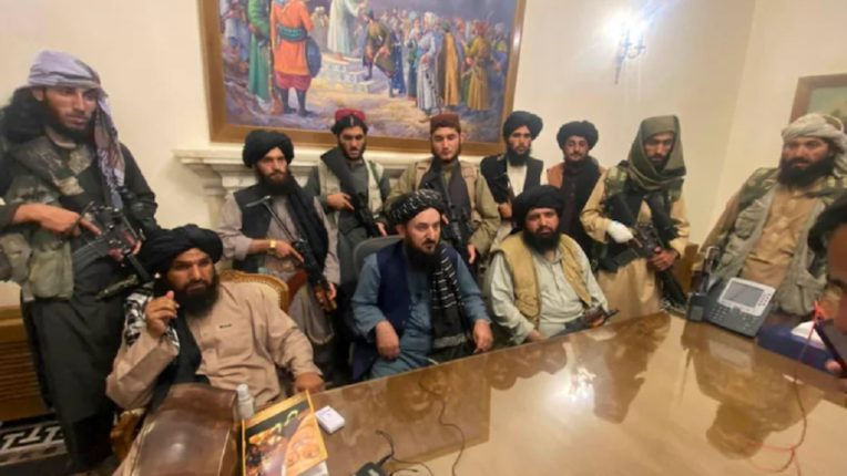 The Taliban took control of the Presidential Palace in Afghanistan; Mulla Hibatullah Akhundzada new leader