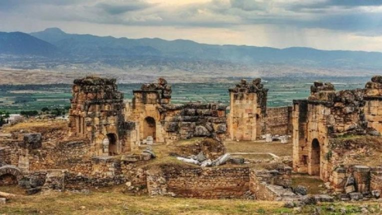 Pluto is the ancient temple of God in Turkey. If anyone enters this temple, he is killed
