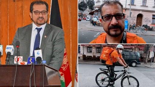 उदरनिर्वाहासाठी अफगाणिस्तानचे 'हे' माजी माहिती तंत्रज्ञान ( IT ) मंत्री जर्मनीत विकतायत 'पिझ्झा'