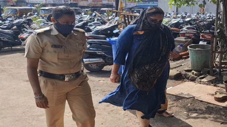 woman journalist arrested
