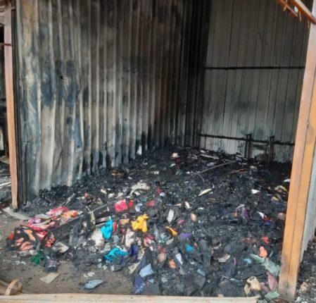 निफाड तालुक्यात अग्निशमन यंत्रणाच नाही! ; नऊ दुकाने जळून खाक