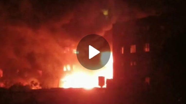 बोईसर तारापूर औद्योगिक कार्यक्षेत्रातील कारखान्यात भीषण आग, सुदैवाने कोणतीही जीवितहानी नाही