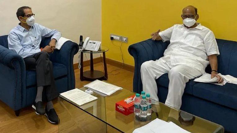 शरद पवार आणि मुख्यमंत्री उद्धव ठाकरे यांची आज महत्त्वाची बैठक