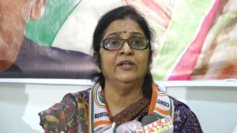 Former MP from Maharashtra Rajni Patil's candidature for Rajya Sabha seat