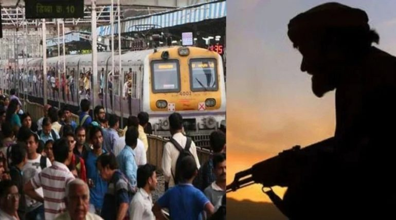 दहशतवादी लोकल ट्रेनमध्ये विषारी गॅस हल्ला करण्याची शक्यता, पोलिस यंत्रणा अलर्ट