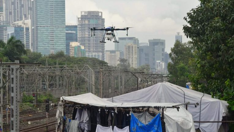 Drones will destroy malaria, dengue larvae Drone spraying on mosquito breeding grounds