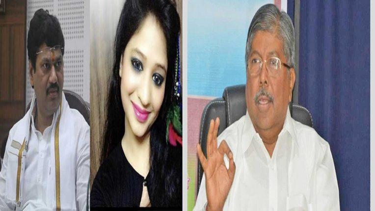 BJP backs Karuna Sharma; Testimony of State President Chandrakant Patil