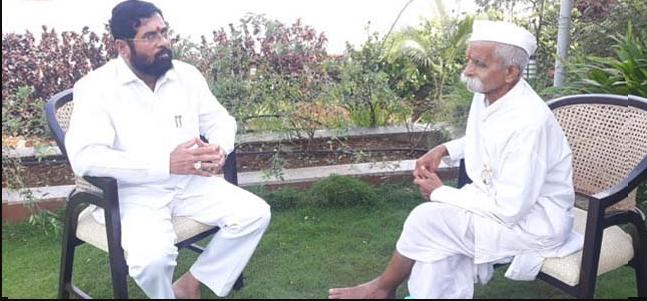 Sambhaji Bhide meets Eknath Shinde; Discussions abound in political circles