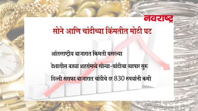 देशांतर्गत बाजारात सोने खरेदी करणे झाले स्वस्त, जाणून घ्या सोन्याचे आजचे दर ?
