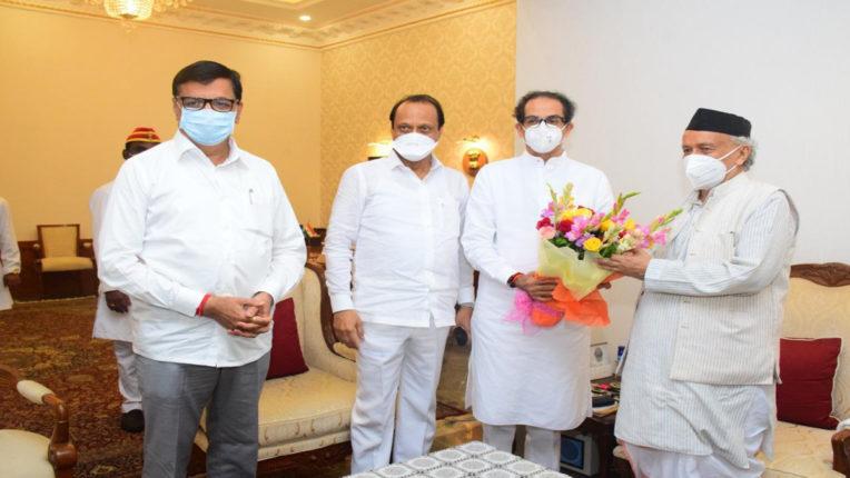 governor and aghadi meeting
