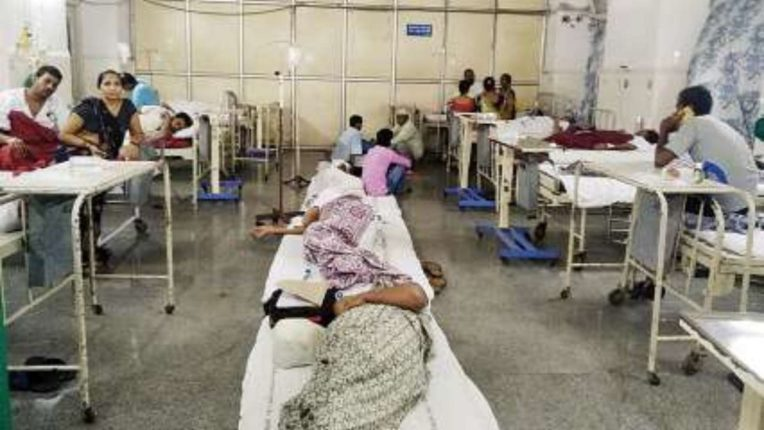 More than 50,000 fever patients in Lucknow