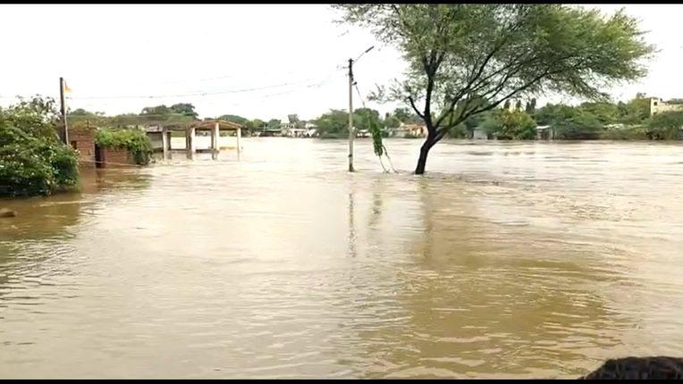 Clouds in Marathwada! Red Alert in Aurangabad district; Shivna, Anjana, Terna river floods