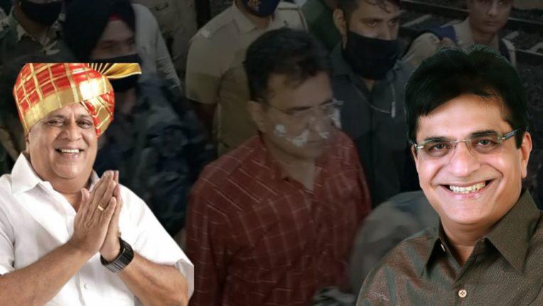 किरीट सोमय्या यांना कराड पोलिसांनी रेल्वेतून उतरवत घेतलं ताब्यात, कोल्हापुरात कलम 144 लागू