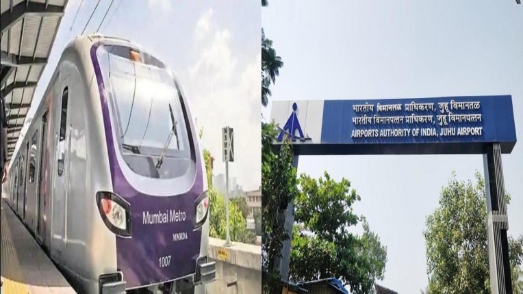 Alarm bell for Metro 2B project Juhu Airport Authority! Petition to the High Court