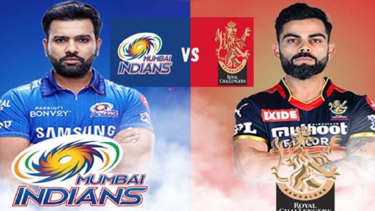 IPL 2021चा डबल धमाका: मुंबई इंडियन्स आणि आरसीबीमध्ये आज महामुकाबला, RO-HIT आणि KOHLI आमनेसामने