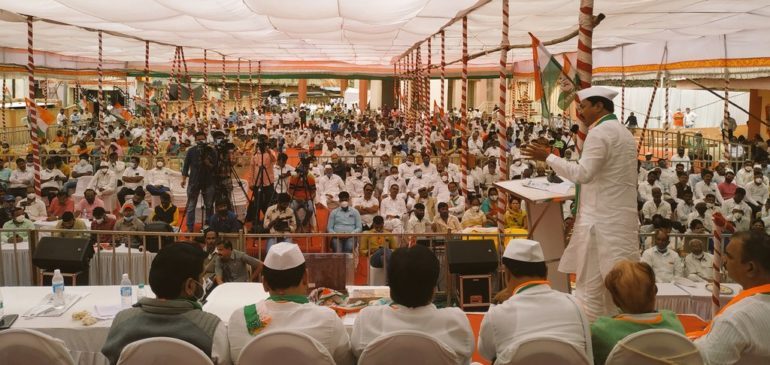 In Vadodara, the 'Save in vain sacrifice, let's save the Constitution campaign' concludes
