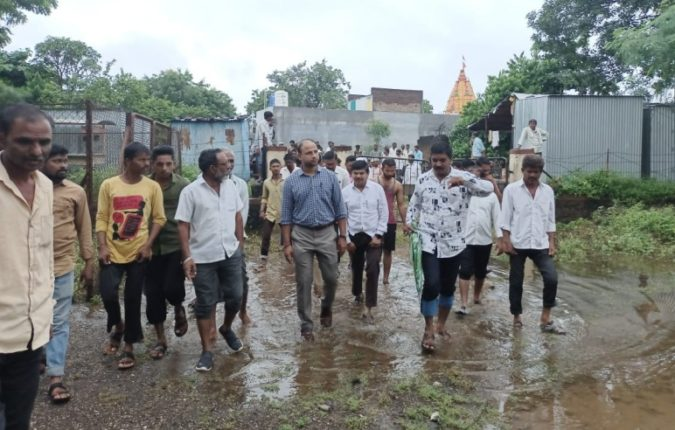 Rains in Nashik! Damage to 265 hectares of agriculture in Malegaon taluka; A big blow to the farmers