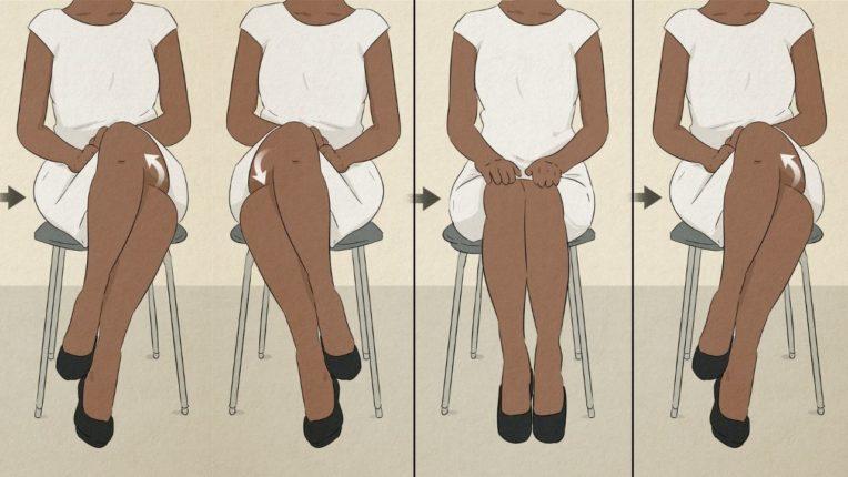 मुलींच्या बसण्याची सवय सांगते त्यांच्याबद्दल 'या' खास गोष्टी